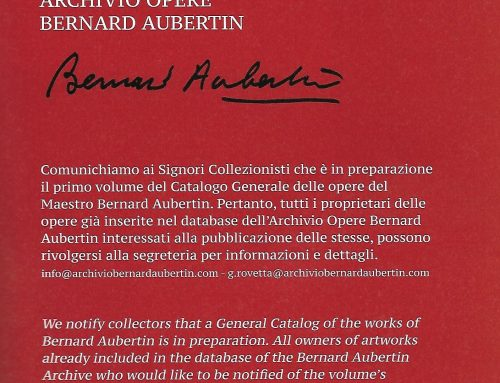 The General Catalogue of the works of Bernard Aubertin is in preparation